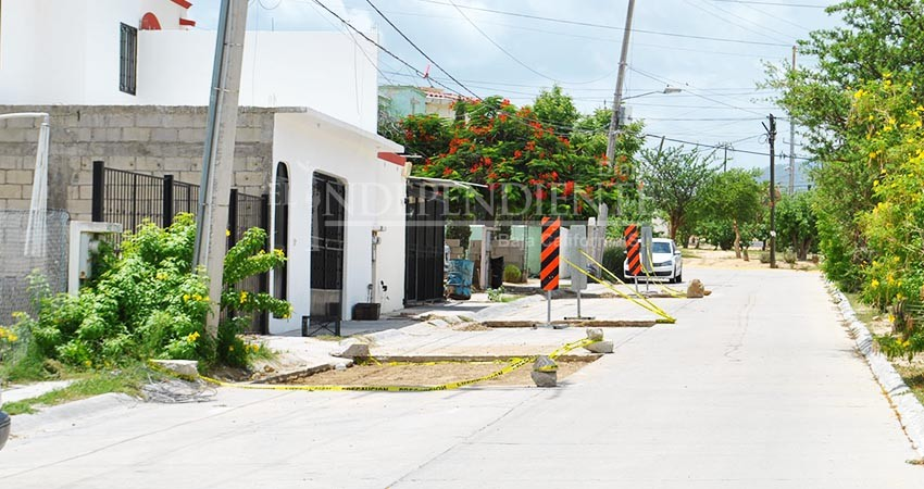 Deben pasar hasta 5 meses para que calles dañadas por OOMSAPASsean rehabilitadas