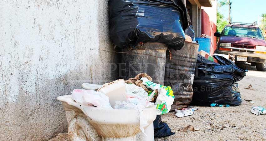 Concluye el gobierno de Armida Castro y en SJC suman dos semanas sin recolección de basura