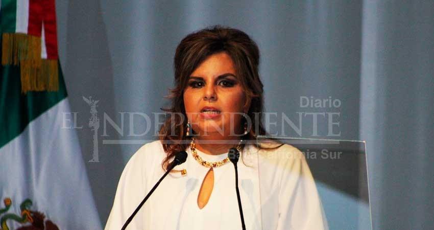 Oscar Leggs tiene los mismos ideales de trabajo: Armida Castro