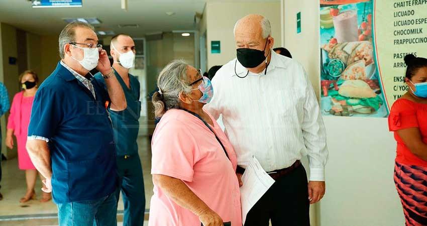 Gobernador realiza visita de evaluación al Hospital Salvatierra