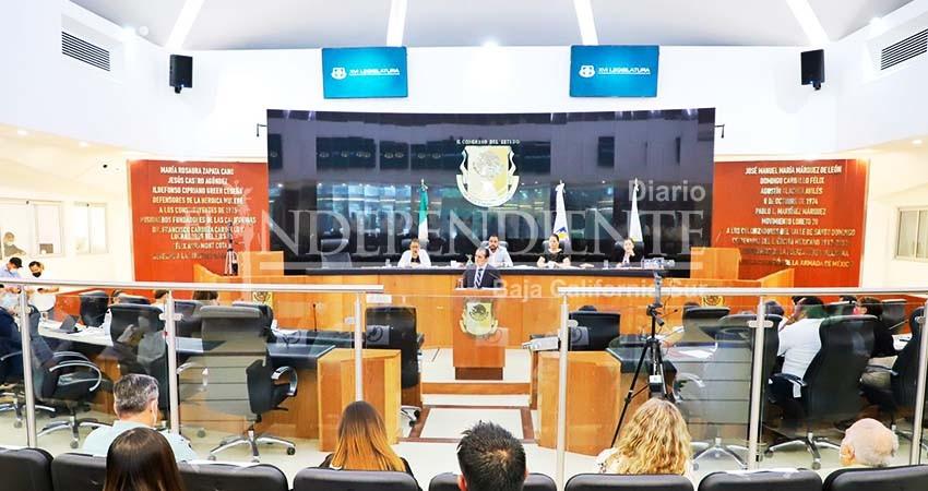 Pleno del Congreso aprueba ratificación de De la Rosa Anaya como procurador de justicia de BCS
