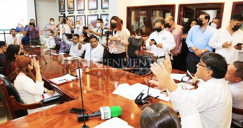 Se asignaron a regidores las Comisiones Edilicias del Ayuntamiento de Los Cabos